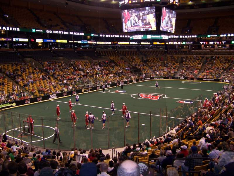 Seating view for TD Garden Section Loge 5 Row 21 Seat 2