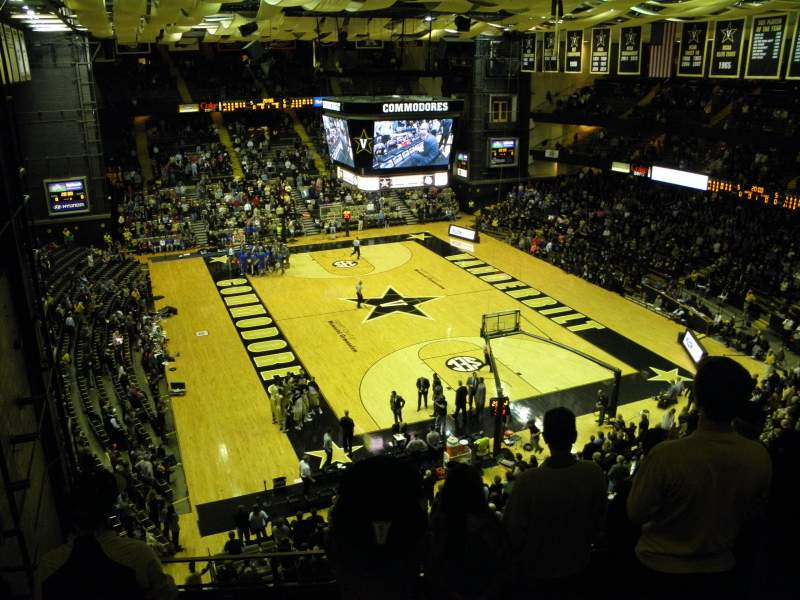 Seating view for Memorial Gymnasium (Vanderbilt) Section 3L Row 6 Seat 68