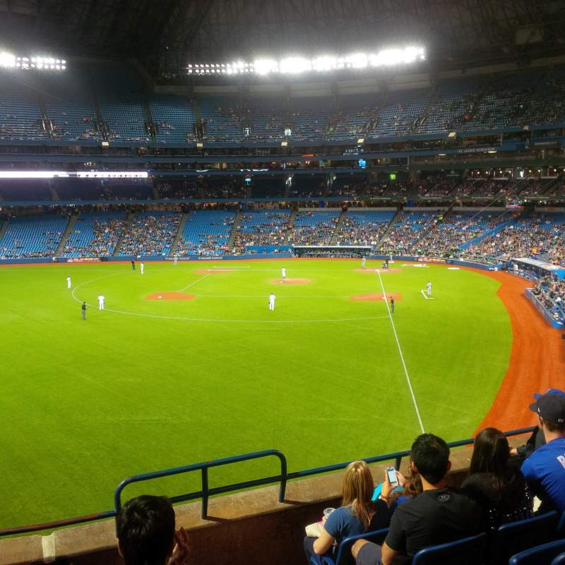 Seating view for Rogers Centre Section 239 Row 6 Seat 102