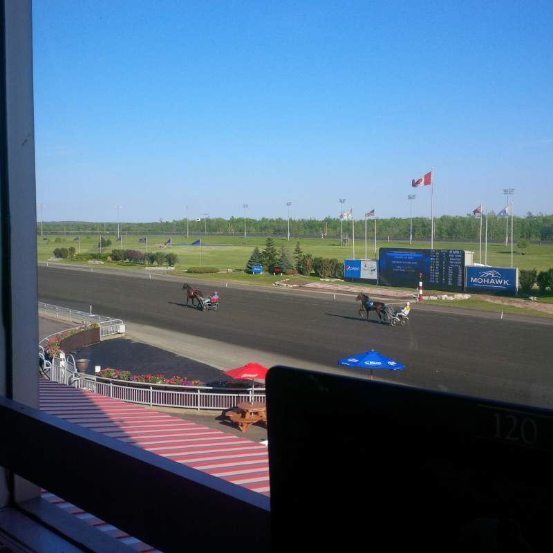 Seating view for Mohawk Racetrack Section Terrace Dining Room