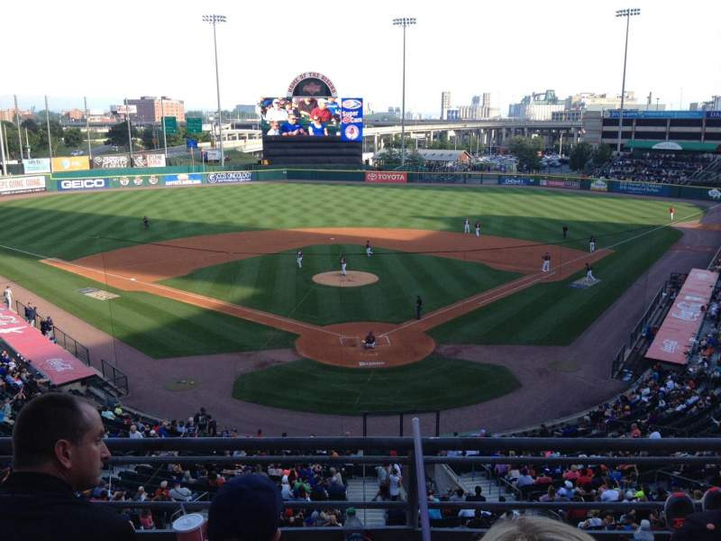 Seating view for Coca-Cola Field Section 201 Row C Seat 8