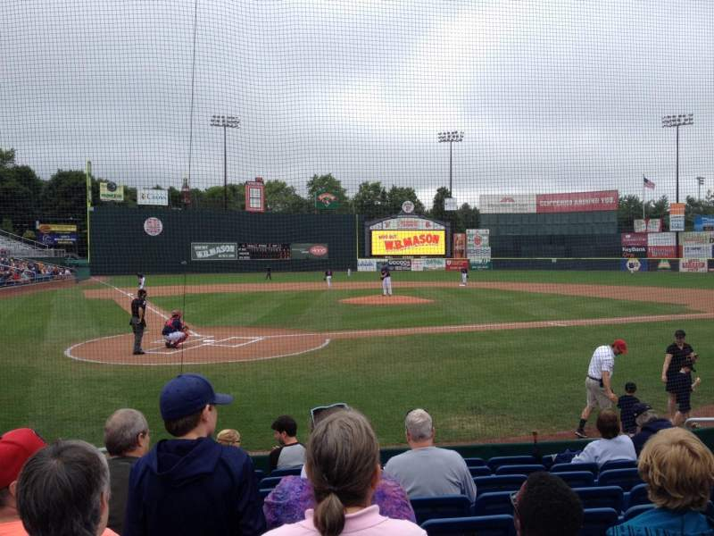 Seating view for Hadlock Field Section 104 Row J Seat 10