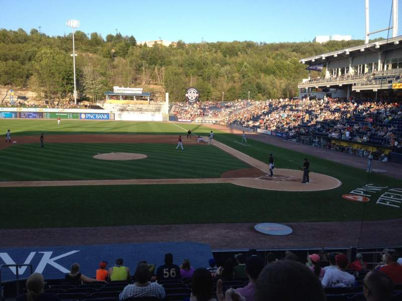 Seating view for PNC Field Section 24 Row 13 Seat 11