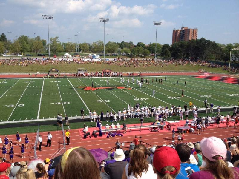 Seating view for Alumni Stadium (Guelph) Section GA