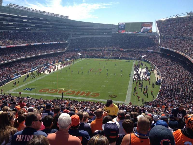 Seating view for Soldier Field Section 350 Row 19 Seat 24