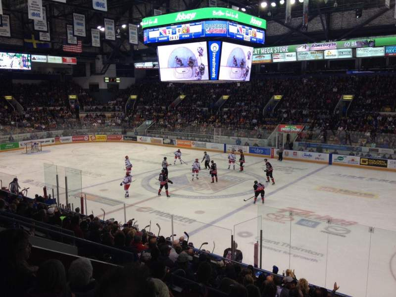 Seating view for Kitchener Memorial Auditorium Section 17 Row M Seat 7