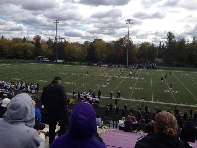 Seating view for Knight-Newbrough Field At University Stadium Section GA