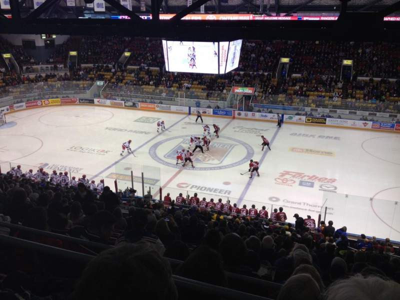 Seating view for Kitchener Memorial Auditorium Section 35 Row BB Seat 7