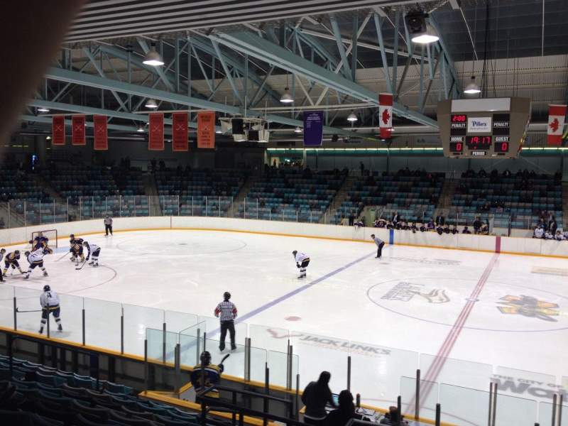 Seating view for Waterloo Memorial Recreation Complex Section R Row L Seat 4