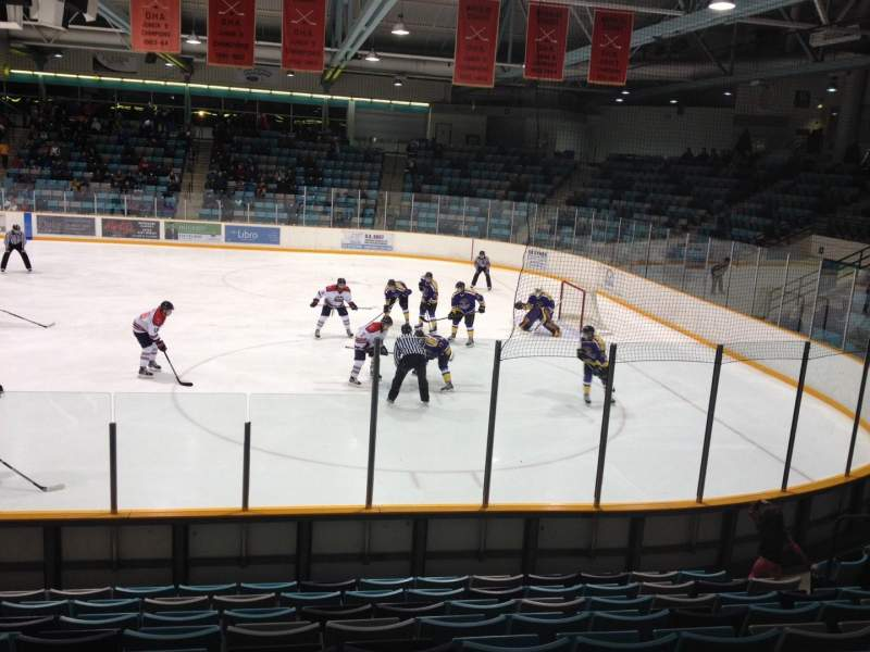 Seating view for Waterloo Memorial Recreation Complex Section B Row J Seat 11