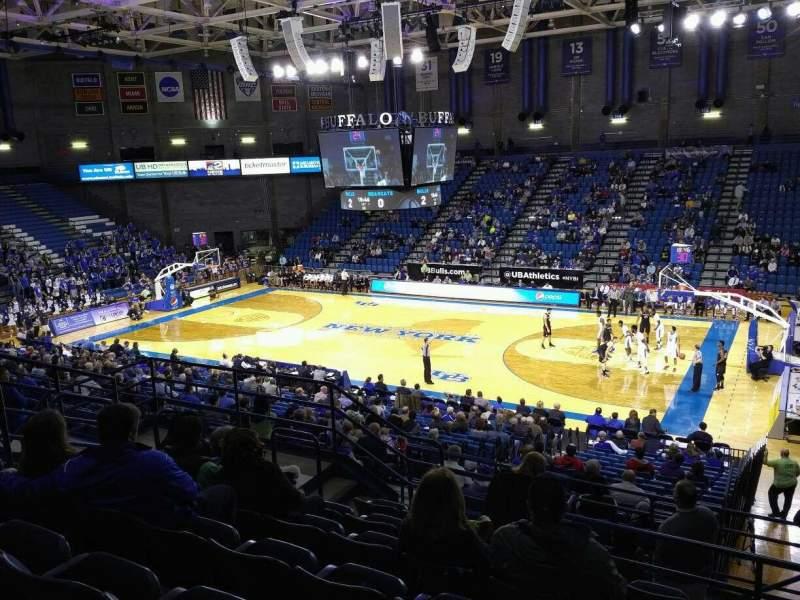 Alumni Arena (University at Buffalo), section: 202, row: G, seat: 5