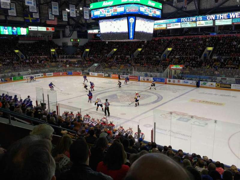 Seating view for Kitchener Memorial Auditorium Section 17 Row M Seat 6