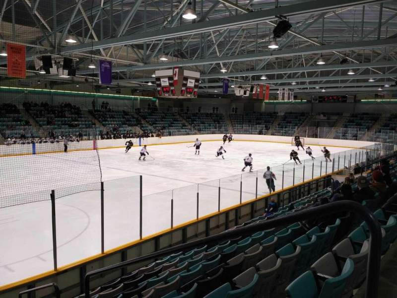 Seating view for Waterloo Memorial Recreation Complex Section U Row J Seat 2