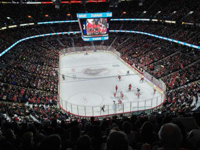 Seating view for Canadian Tire Centre Section 316 Row K Seat 7