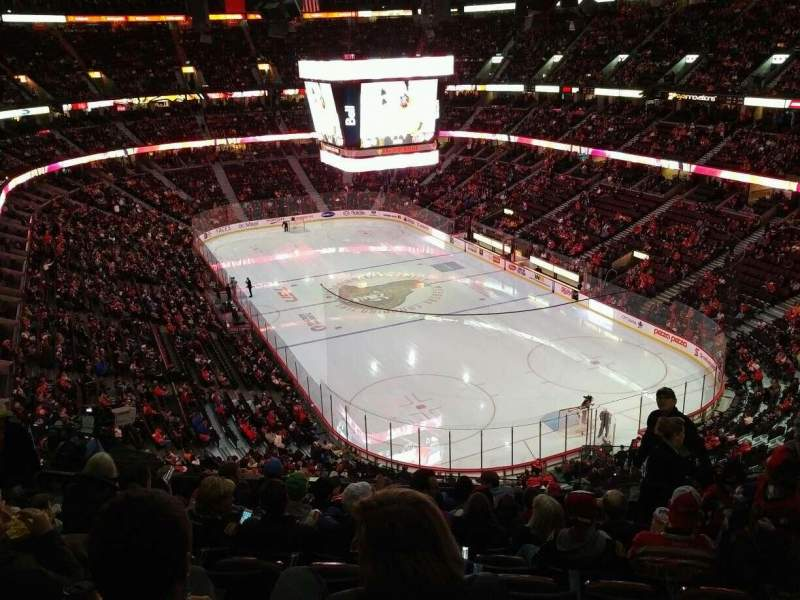 Seating view for Canadian Tire Centre Section 317 Row K Seat 7