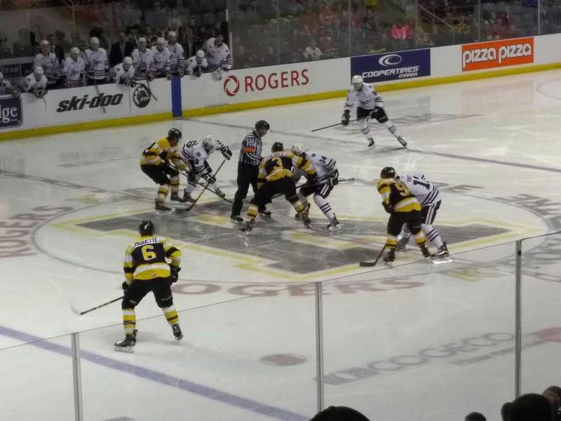 Seating view for Rogers K-Rock Centre Section 114 Row 15 Seat 7