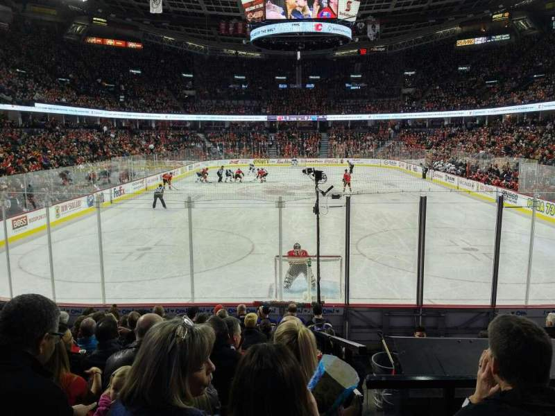 Scotiabank Saddledome, section: 104, row: 12, seat: 10