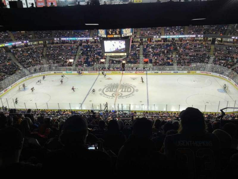 Seating view for Rexall Place Section 337 Row 48 Seat 4