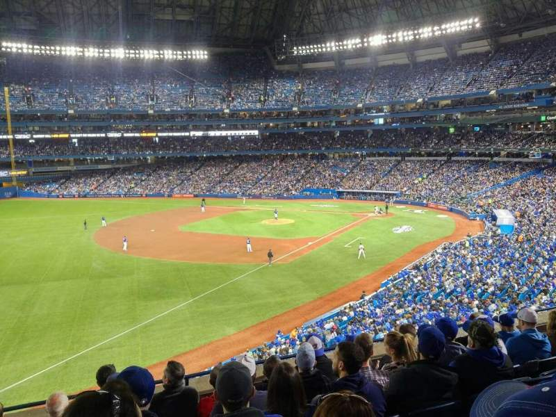 Seating view for Rogers Centre Section 236R Row 7 Seat 5