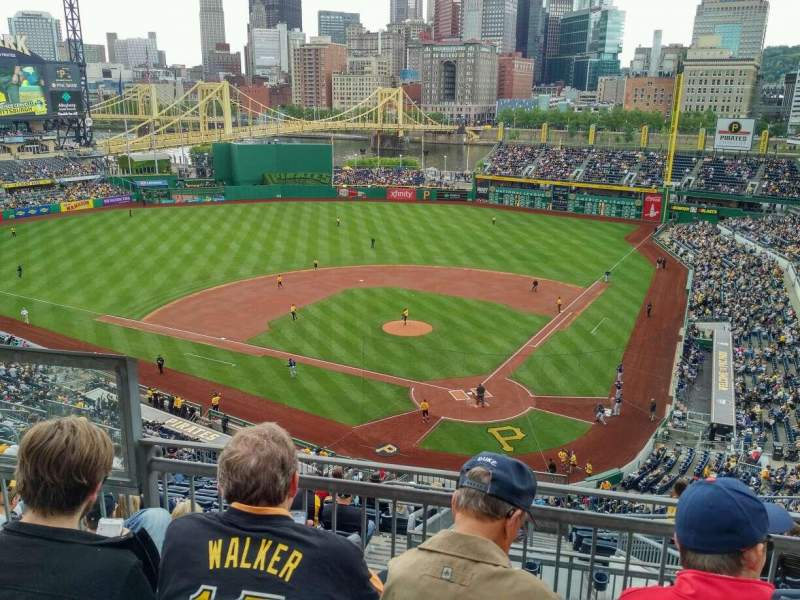 Seating view for PNC Park Section 318 Row F Seat 10