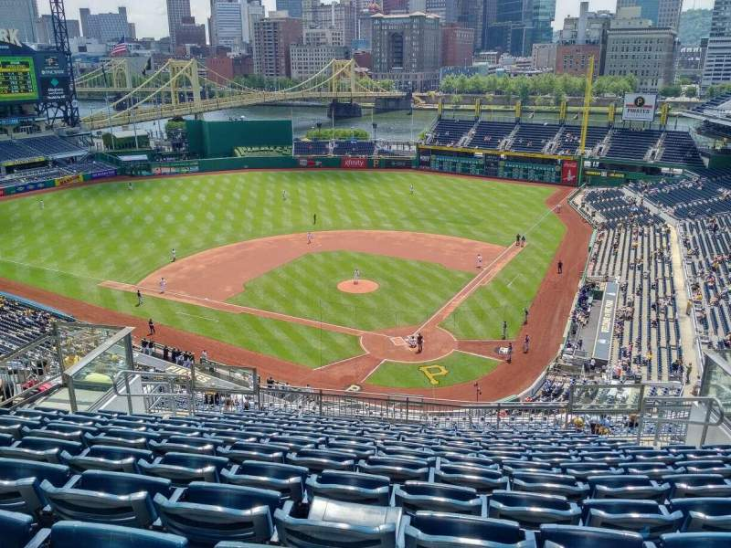 Seating view for PNC Park Section 318 Row Q Seat 10