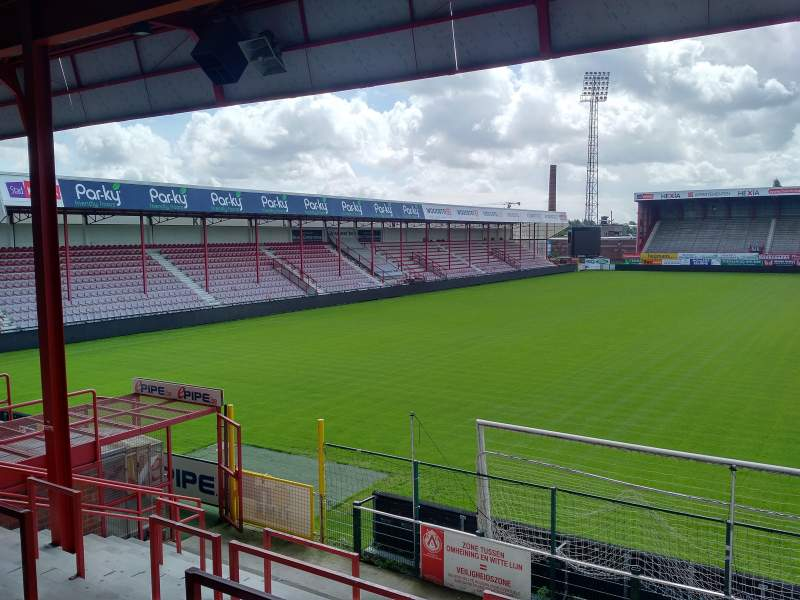 Seating view for Guldensporen Stadion Section I