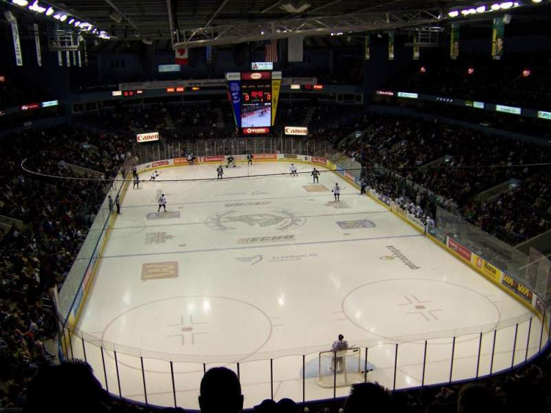 Seating view for Budweiser Gardens Section 310 Row G Seat 12