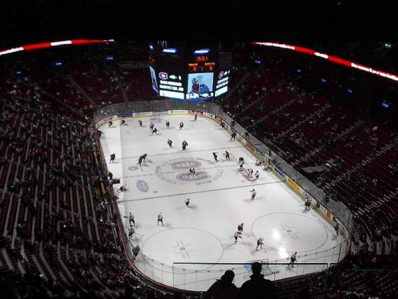 Seating view for Centre Bell Section 430 Row A Seat 2