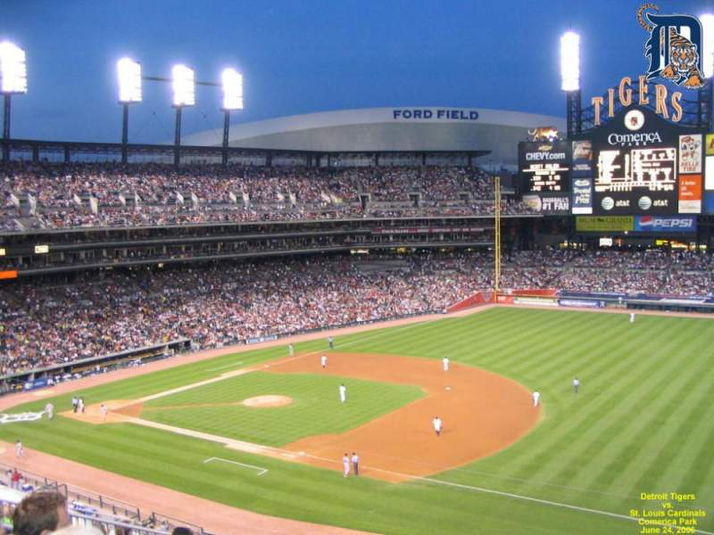 Seating view for Comerica Park Section 217 Row 4 Seat 15