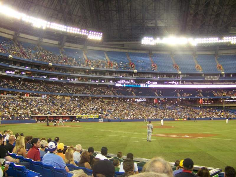 Seating view for Rogers Centre Section 115R Row 7 Seat 5