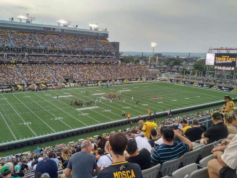 Seating view for Tim Hortons Field Section 218 Row 15 Seat 16f