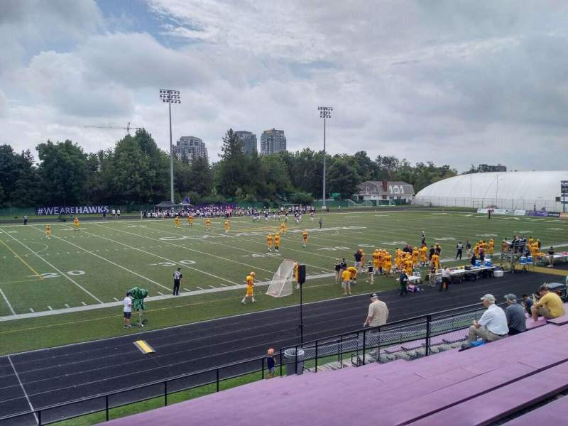 Seating view for Knight-Newbrough Field at University Stadium Section Gf