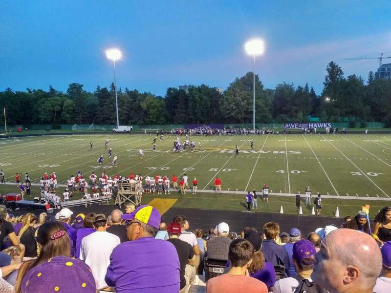 Seating view for Knight-Newbrough Field at University Stadium Section D