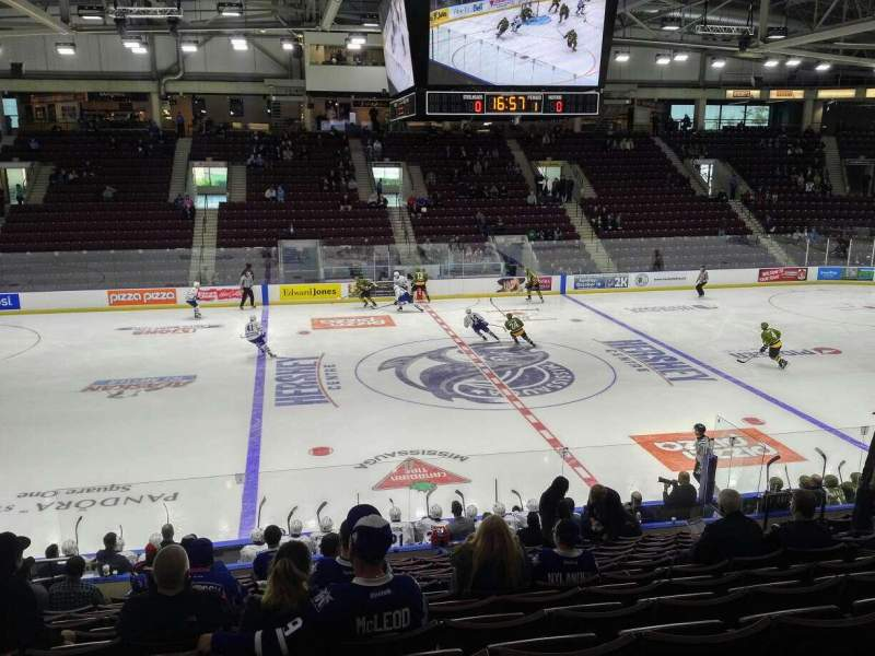 Seating view for Paramount Fine Foods Centre Section 20 Row Q Seat 9