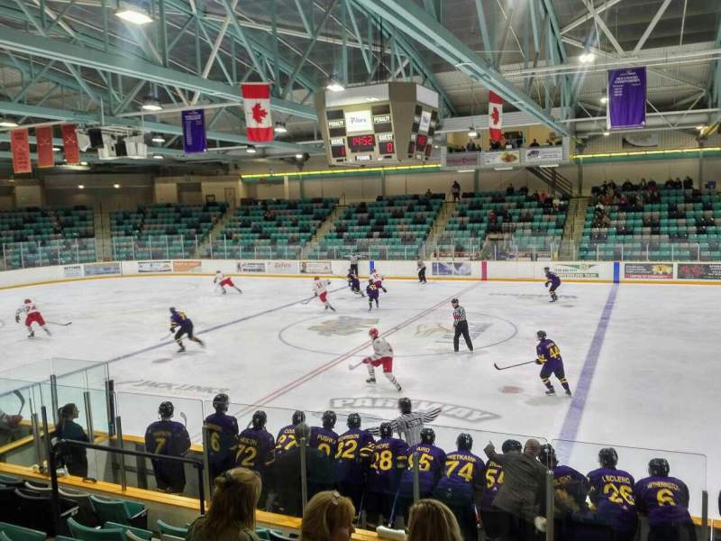 Seating view for Waterloo Memorial Recreation Complex Section 3 Row J Seat 9