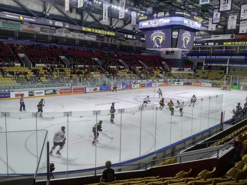 Seating view for Kitchener Memorial Auditorium Section 7 Row I Seat 1