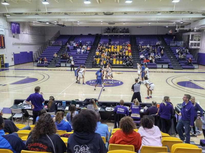 Seating view for Golden Hawks Athletic Complex Section GA