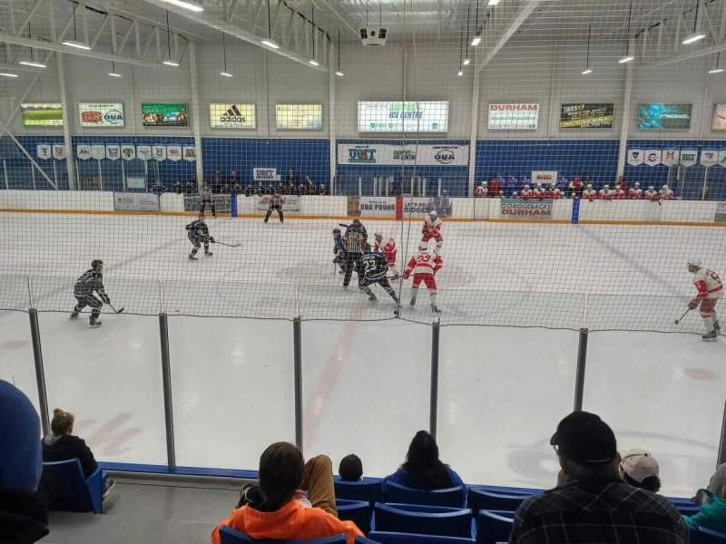 Seating view for UOIT Campus Ice Centre Section GA
