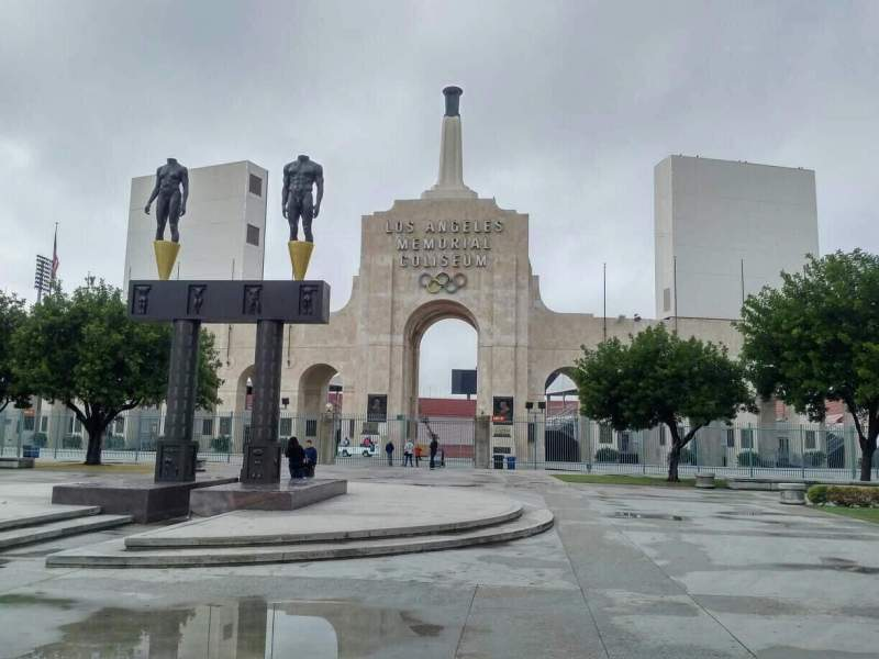 Seating view for Los Angeles Memorial Coliseum