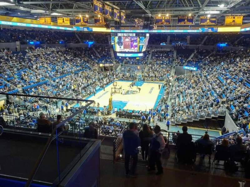 Seating view for Pauley Pavilion Section 208 Row 5 Seat 7