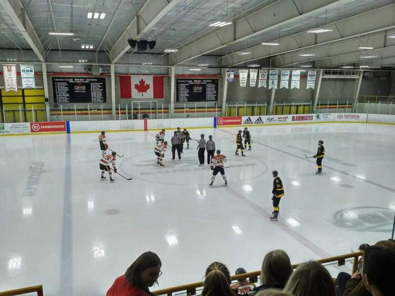 Seating view for Gryphon Centre Section GA