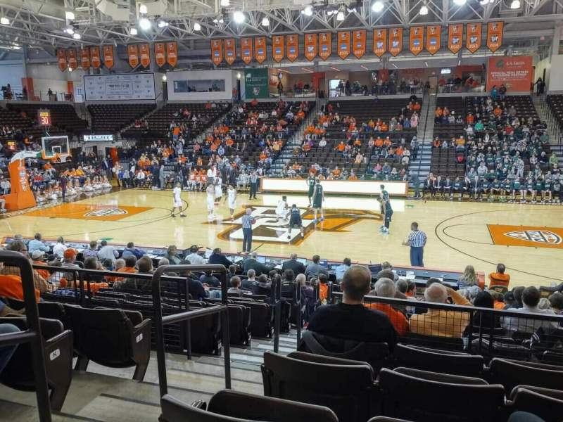 Seating view for Stroh Center Section 102 Row N Seat 2