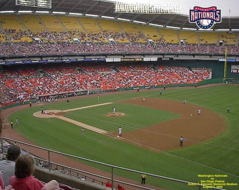 Seating view for RFK Stadium Section 408 Row 7 Seat 5