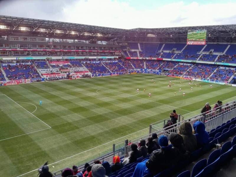 Seating view for Red Bull Arena (New Jersey) Section 229 Row 14 Seat 25