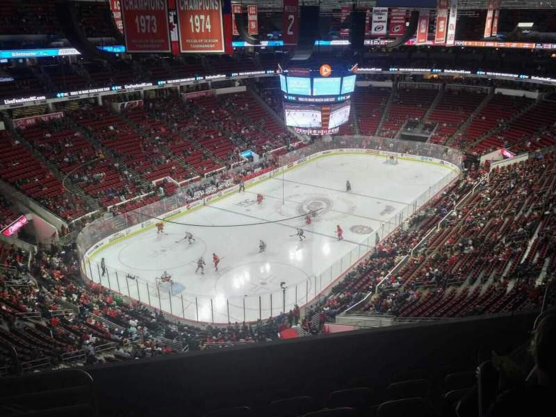 Seating view for PNC Arena Section 330 Row F Seat 9