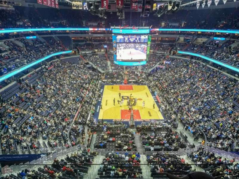 Capital One Arena, section: 425, row: C, seat: 12