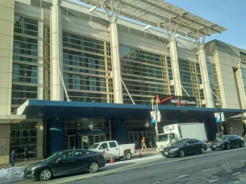 Seating view for Verizon Center Section exterior