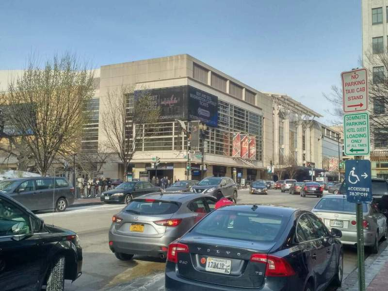 Seating view for Capital One Arena Section exterior