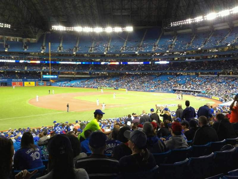 Seating view for Rogers Centre Section 130AR Row 37 Seat 9