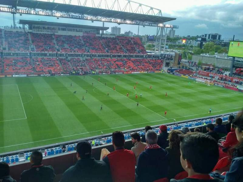 BMO Field, section: 209, row: 11, seat: 28